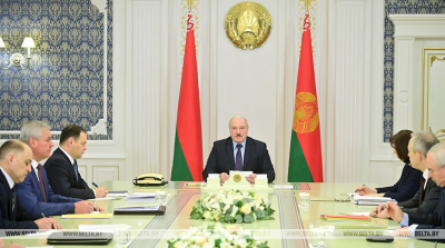 Lukashenko discusses preparations for Belarusian People's Congress