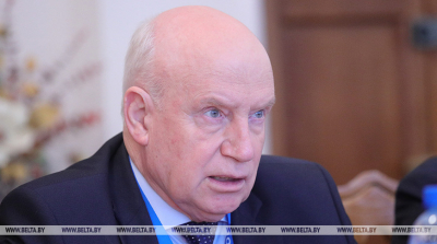 Lebedev to lead CIS observation mission at presidential election in Belarus