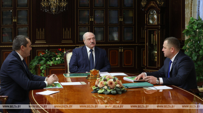 Lukashenko reviews forestry industry performance